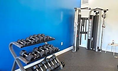 Fitness Weight Room, 523 Villa Cir, 2