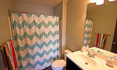 Bathroom, Woodlands of Tuscaloosa Apartments, 2