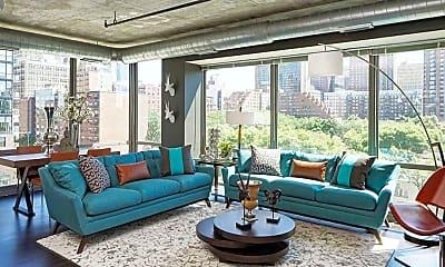 Living Room, 914 S Clark St, 0