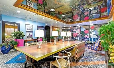 Foyer, Entryway, Detroit City Club Apartments, 1