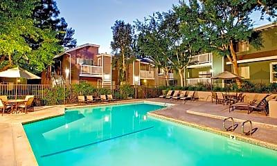 Pool, Canyon Terrace Apartments, 0