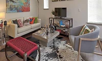Living Room, Block 32 at Rino, 1