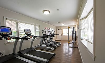 Fitness Weight Room, Northgate Apartment Homes, 1