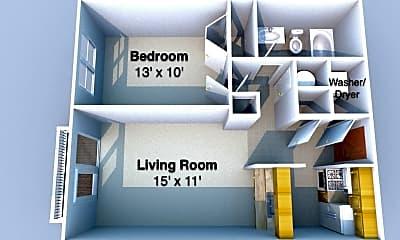 Bedroom, 809 N 6th St, 2