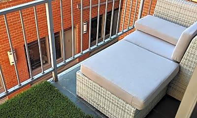 Patio / Deck, 636 E 11th St 3B, 2