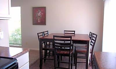 Dining Room, Pine Creek Apartments, 1