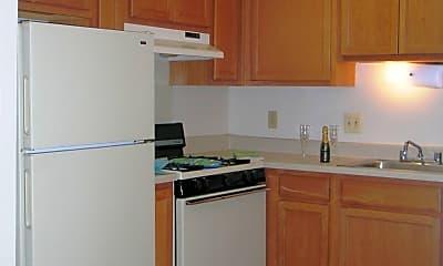 Kitchen, Dartmouth Square Apartments, 1