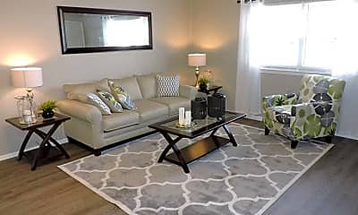 Living Room, Orchard Apartments, 0