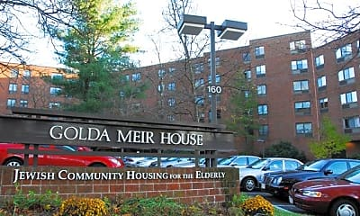 Building, Golda Meir House, 0