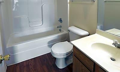 Bathroom, Park Lake Apartments, 2