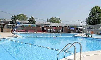 Pool, Knoll Gardens Apartments, 1