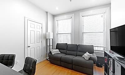 Living Room, 483 Beacon Street, Unit 54, 0