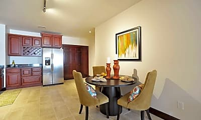 Dining Room, Gallery 720 Luxury High Rise, 1