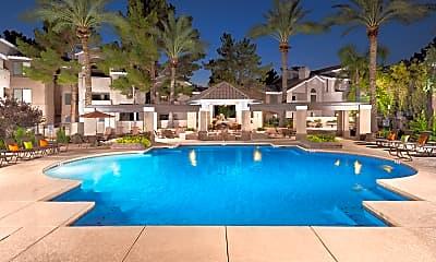 Pool, The Palisades at Paradise Valley Mall, 2