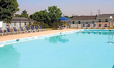 Pool, The Townes at Heritage Hill, 1
