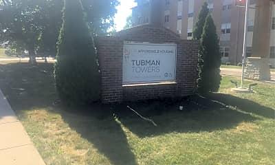 Tubman Tower, 1