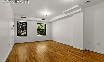 Living Room, 63 W 127th St 3, 1