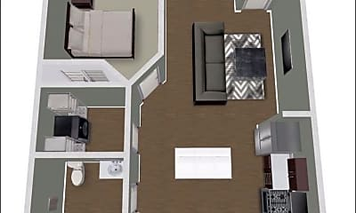 Living Room, 21 West Jefferson Street, 1