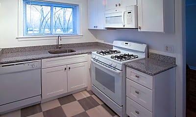 Kitchen, Braeside Apartments, 1