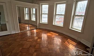 Living Room, 1074 Carroll St, 1