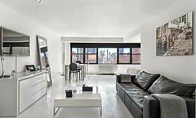 Living Room, 166 E 61st St 15-H, 0