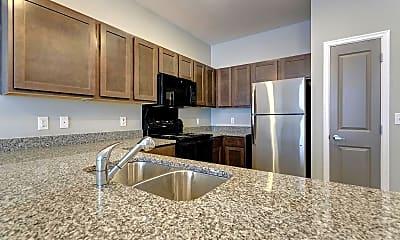 Kitchen, Uptown Flats Memphis, 1