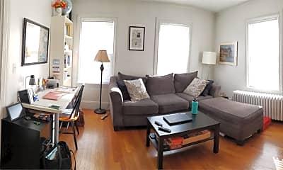 Living Room, 63 Harvard St, 1