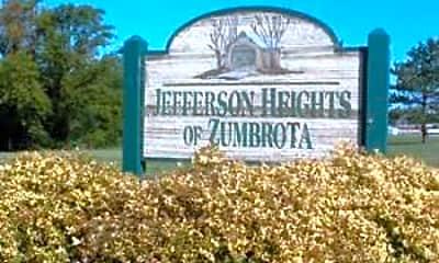 Community Signage, Jefferson Heights, 2