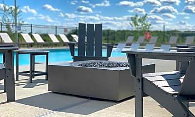 Pool, Statesman Apartments, 2