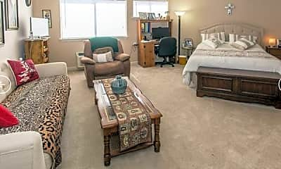 Living Room, The Landing at Behrman Place Senior Living, 0