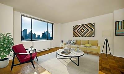 Living Room, 330 W 56th St, 1