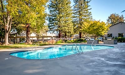 Pool, Artisan Square Apartments, 2