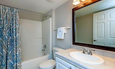 Bathroom, The Westcott Apartments, 2