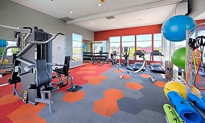 Fitness Weight Room, Bridgecourt, 1