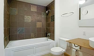 Bathroom, Motor Lofts, 2