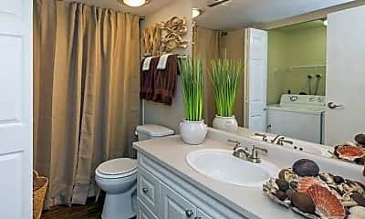 Bathroom, Bonterra Lakeside Apartments, 2