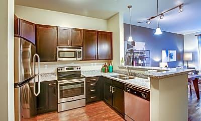 Kitchen, 401 Oberlin Apartments at Cameron Village, 0