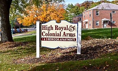 Community Signage, High Royal, 2