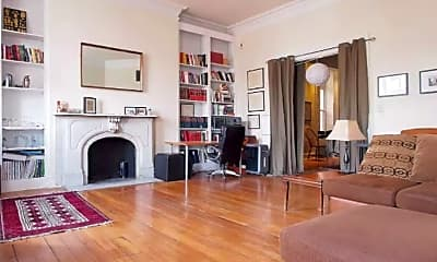Living Room, 1518 Park Ave, 1