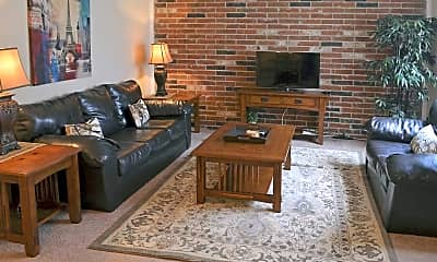 Living Room, Red Lion Apartments, 0