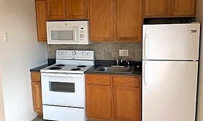 Kitchen, 4644-4648 Cuming St Apartments, 1