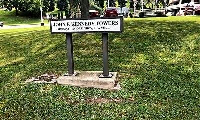 John F Kennedy Tower, 1