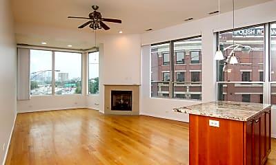 Living Room, 1001 N Milwaukee Ave 202, 1