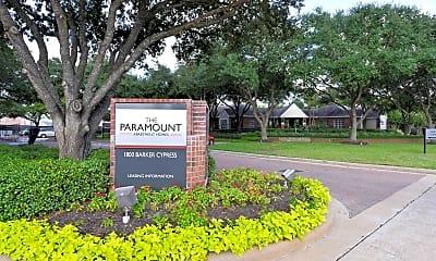 Community Signage, The Paramount, 2