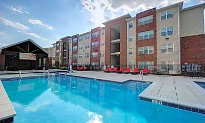 Pool, The Reserve At Greensboro - Per Bed Lease, 1