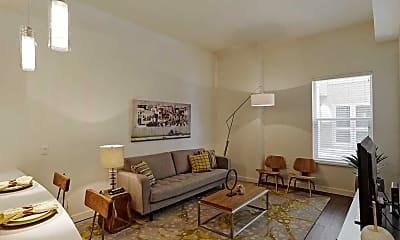 Living Room, Amaranth, 1