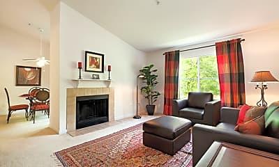 Living Room, Summer Creek Apartments, 1