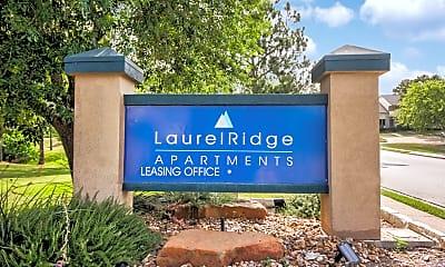 Community Signage, Laurel Ridge, 2
