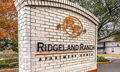 Community Signage, Ridgeland Ranch, 1