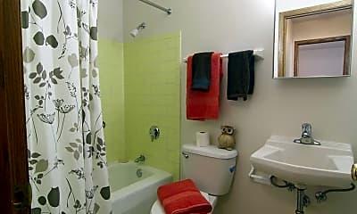 Bathroom, Evergreen Square, 2